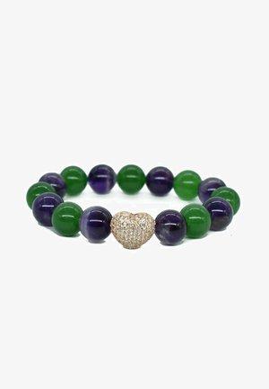 JADE & AMETHYST - Armband - cactus purple