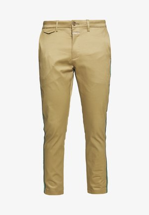 ATELIER CROPPED - Chinos - pebble