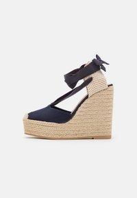 Polo Ralph Lauren - Platform sandals - navy - 1