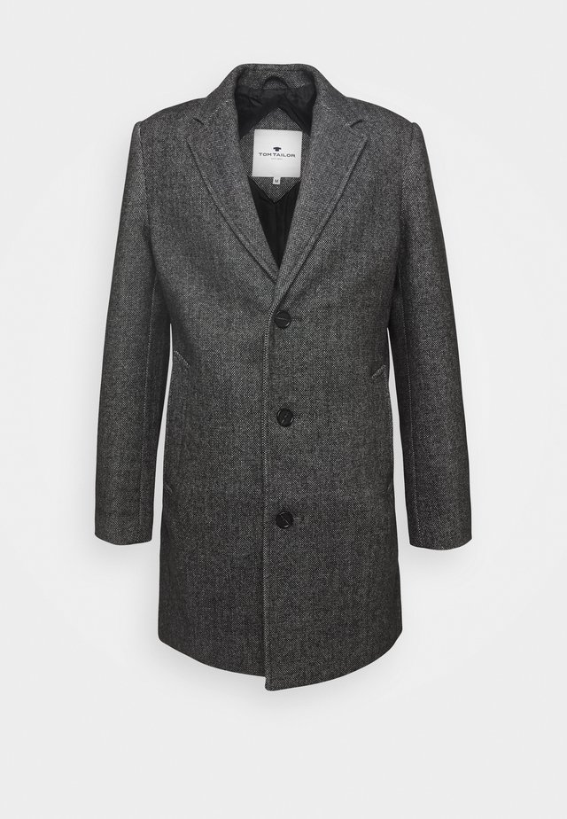 COAT THREE BUTTONS - Mantel - mottley grey