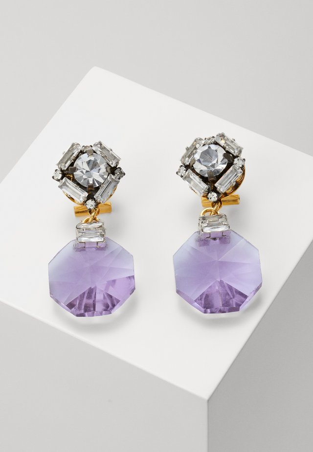 Earrings - lilac