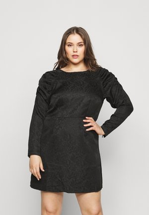 PCRUSTINE  CURVE - Cocktail dress / Party dress - black
