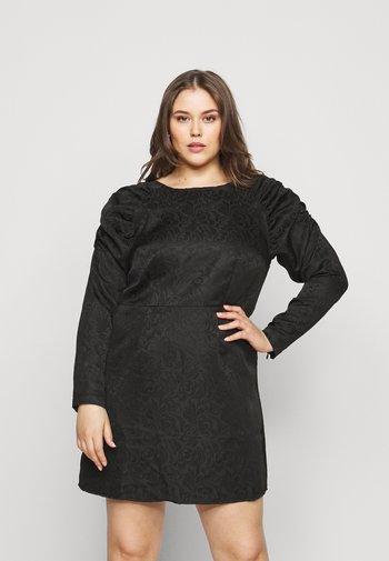 PCRUSTINE  CURVE - Cocktail dress / Party dress - black
