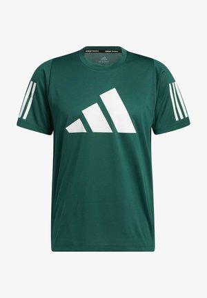 T-shirt print - collegiate green