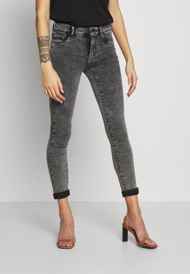 ONLRAIN ACID WASH  - Jeans Skinny Fit - dark grey