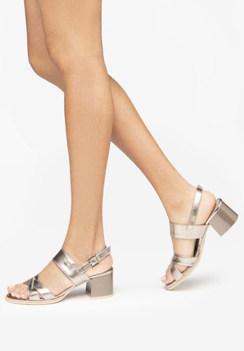 Sandals - bronzo