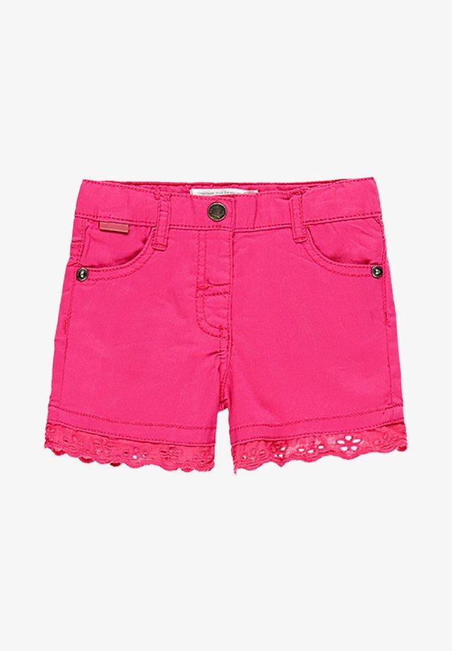 Short en jean - hibiscus