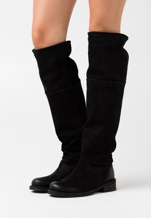 COOPER - Over-the-knee boots - nirvan nero