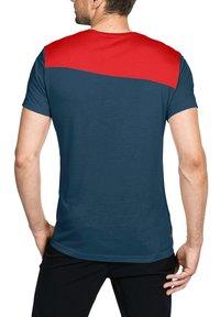 Vaude - SVEIT  - Print T-shirt - mars red - 1