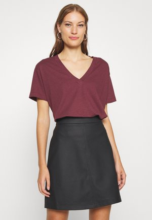 TANYA TEE - Basic T-shirt - dark dusty rose