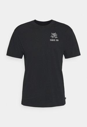 DARKNATURE TEE UNISEX - T-shirt med print - black
