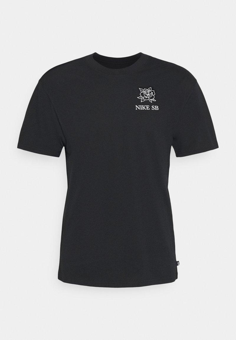 Nike SB - DARKNATURE TEE UNISEX - Print T-shirt - black