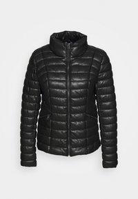 Liu Jo Jeans - IMBOTTITO OVATT CORT - Faux leather jacket - nero - 4