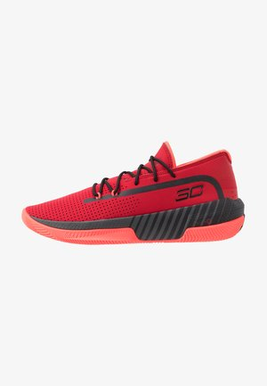 SC 3ZER0 III - Basketball shoes - red/jet gray/black