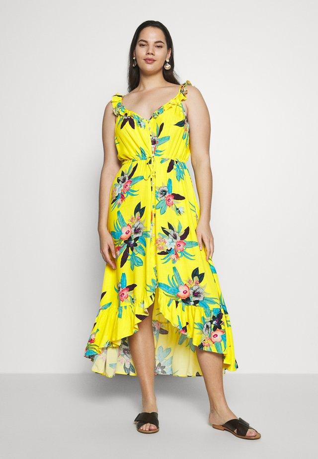 ELBA FRILL - Maxi šaty - elba