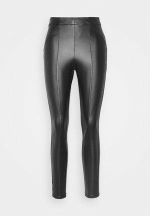 VISIMINA - Leggings - Trousers - black
