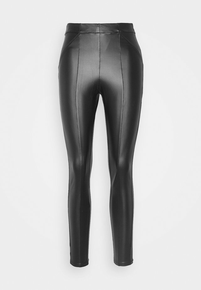 VISIMINA - Leggings - Trousers - black