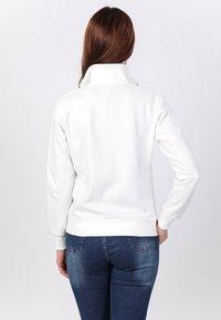 Basics and More - Zip-up sweatshirt - off-white - 1