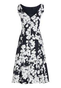 Vera Mont - MIT BLUMENPRINT - Cocktail dress / Party dress - dark blue/cream - 3