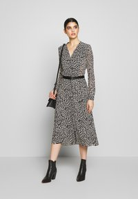 MICHAEL Michael Kors - DRESS - Shirt dress - black/bone - 1