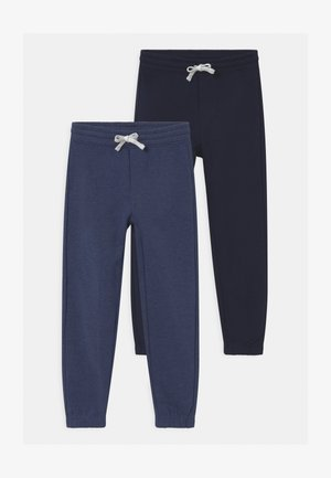 2 PACK - Tracksuit bottoms - dark sapphire