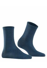 FALKE - POINTELLE - Socks - atlantic - 2
