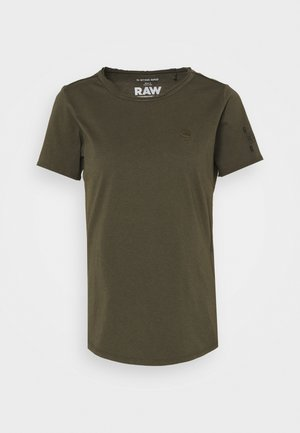 MYSID R T OPTIC SLIM WMN  - T-shirt print - combat