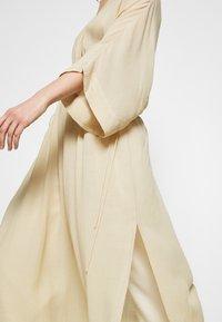 Notes du Nord - TAMIA DRESS - Vapaa-ajan mekko - beige - 4