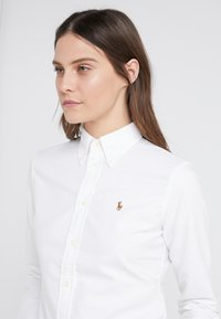 Polo Ralph Lauren - HARPER CUSTOM FIT - Button-down blouse - white - 3