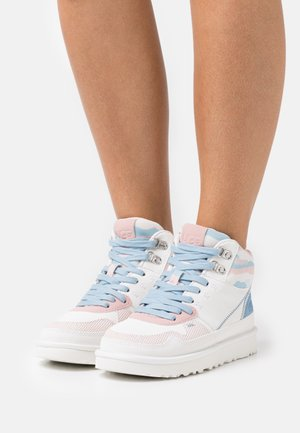 HIGHLAND CALI COLLAGE - Sneakers hoog - light pink