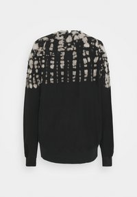 Proenza Schouler White Label - FLUID TIE DYE LONG SLEEVE - Collegepaita - black - 1