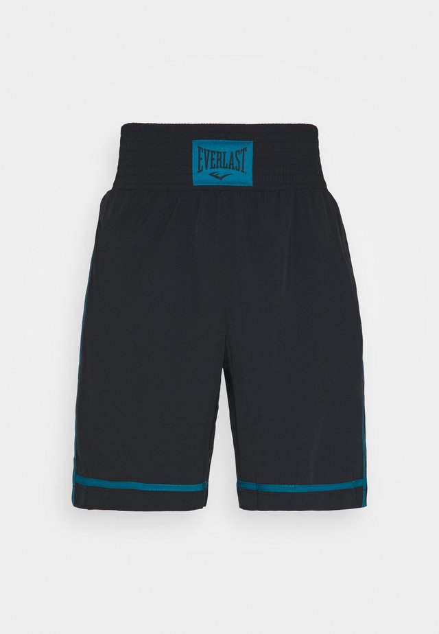 CROSS - Sports shorts - black/blue