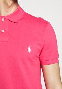 Polo Ralph Lauren - SLIM FIT MESH POLO SHIRT - Polo shirt - hot pink - 5