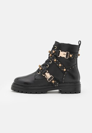 INDRA - Lace-up ankle boots - black