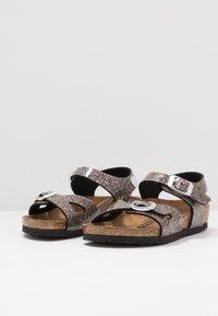 Birkenstock - RIO - Sandals - black/multicolor - 3