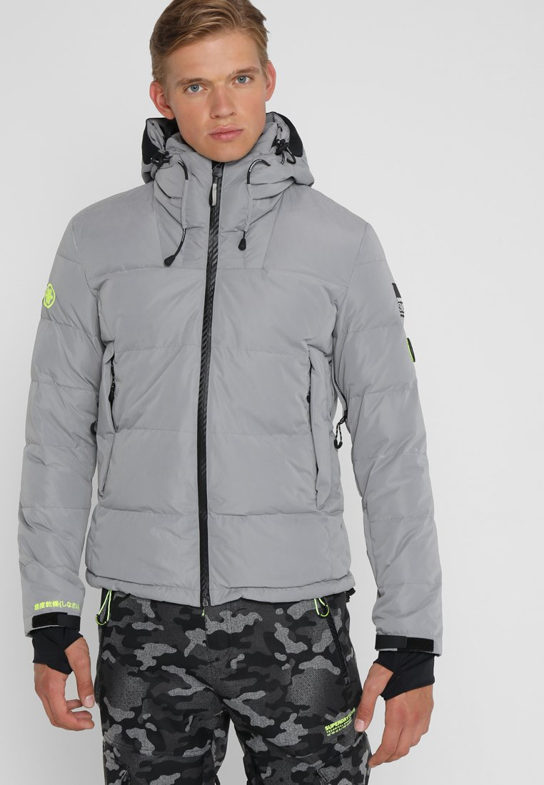 Superdry - SNOW SHADOW  - Skidjacka - carbomised grey