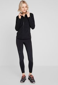 The North Face - WOMENS GLACIER FULL ZIP - Fleecejakker - black - 1