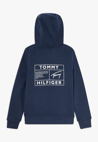 Tommy Hilfiger - REFLECTIVE GRAPHIC FULL ZIP - Hoodie met rits - blue - 1
