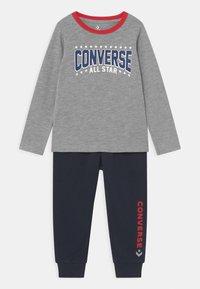 Converse - STAR SET UNISEX - Tracksuit - grey heather - 0
