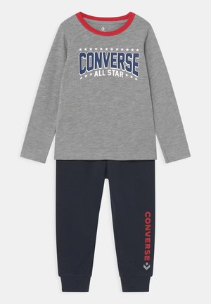STAR SET UNISEX - Tracksuit - grey heather