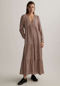 OYSHO - Maxi dress - brown - 0