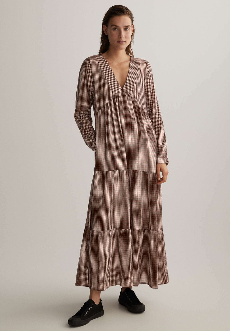 OYSHO - Maxi dress - brown