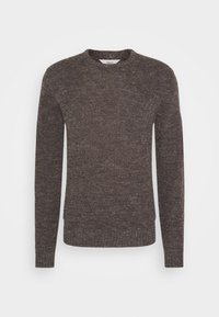 Solid - MARCO - Jumper - brown - 4