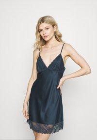 LingaDore - DULL DRESS - Camicia da notte - navy - 0