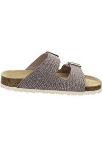 AFS Schuhe - ZWEISCHNALLER - Slippers - sand - 4