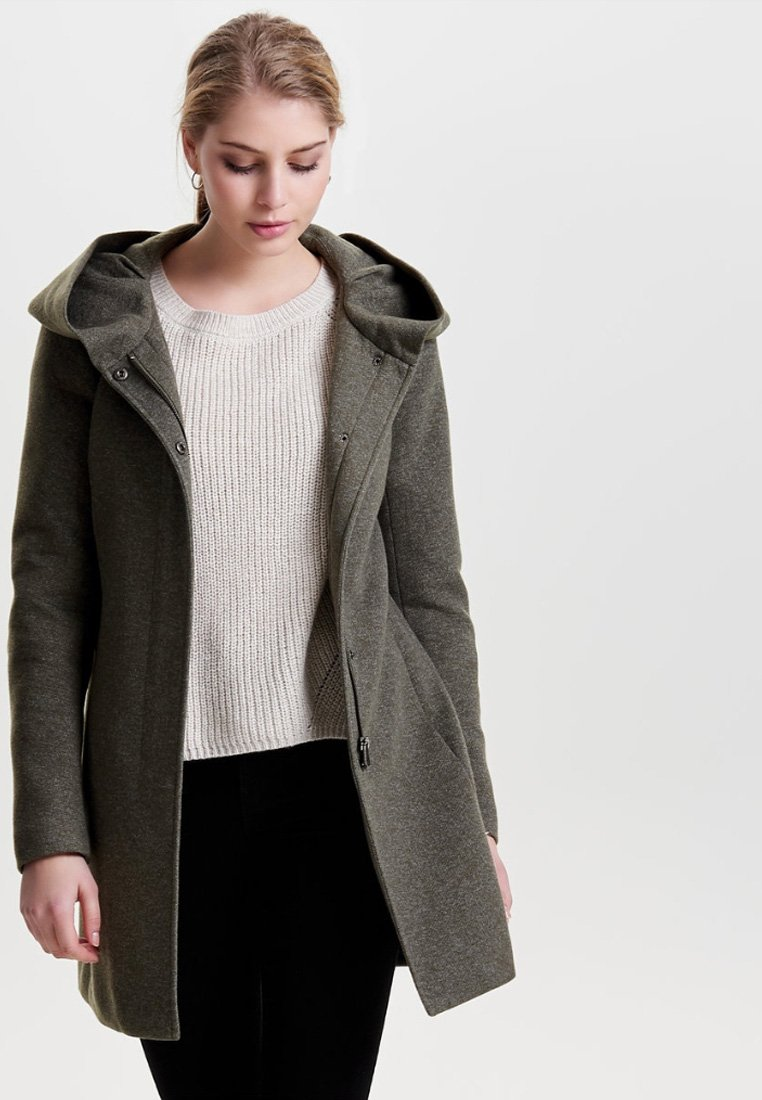 ONLY - ONLSEDONA - Abrigo corto - grey
