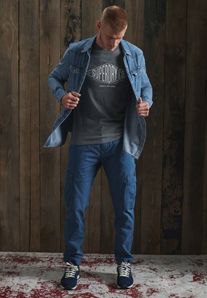 RESURRECTION - Shirt - mid wash bright blue