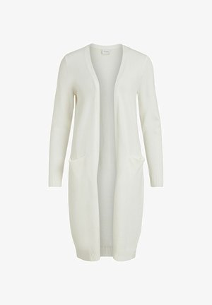 VIRIL LONG CARDIGAN - Cardigan - white alyssum