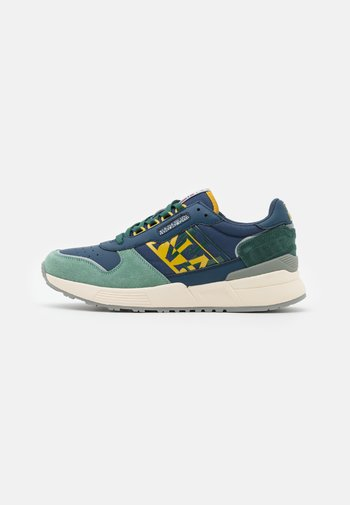 SPARROW - Trainers - navy/yellow