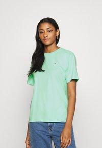 Fila - EARA TEE - Basic T-shirt - beach glass - 0